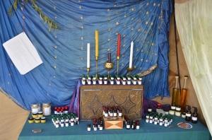 Tarot anointing oils